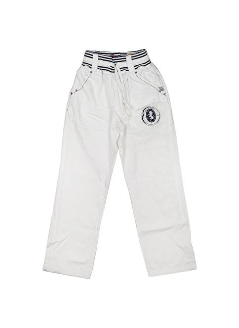 Puledro Pantolon Beyaz